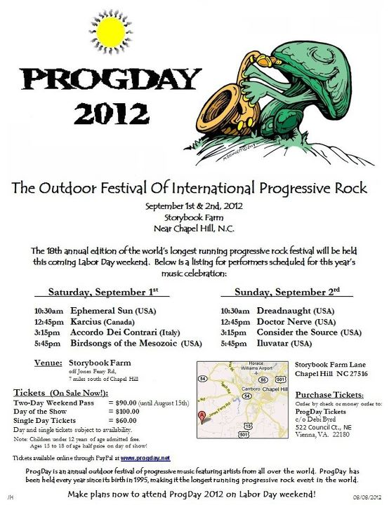 Live Review: ProgDay 2012 - Greenhouse Effect (1/6)